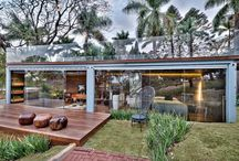 Living inside the box / Re-purposed shipping containers