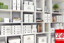 Clik & Store de Leitz: archiva con estilo tu oficina y hogar wwww.papeleriasegarra.com / www.papeleriasegarra.com  de archivo Click & Store de Leitz para que puedas ordenar tus documentos y material de oficina de manera elegante y distinguida.