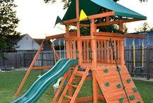 Backyard Toys! / Outside Play!