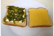 Бутерброды с жаренным сыром