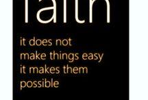 Faith ~ Encouragement