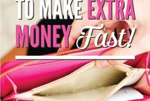 How To Make Extra Money Fast / Here you can find tips and ideas on how to make money fast!