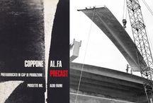 """COPPONE AL.FA / 1967 Elemento prefabbricato """"Coppone AL.FA"""" Modello di utilità n. 109864, 4 gennaio 1967"""
