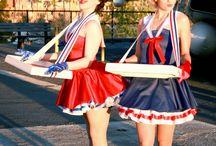 sailor / cigarette girls