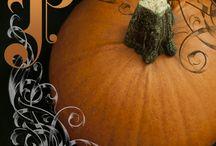 P is for Pumpkin / by Cherokee Haab