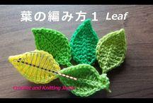 葉の編み方