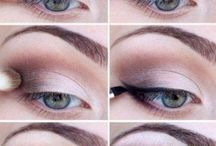 Brown makeup