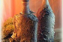 Бутылки / Различное оформление бутылок