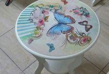 Mesas decorativas vintage