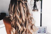 włosy i włosy kolorowe
