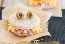 Monster Sandwiches / Ideas for monster sandwiches