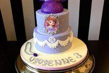 Gateau / cake Princess Sofia