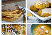 Autumn Pumpkin recipes