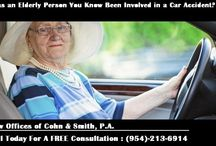 Car Accidents Pose Double the Risk to The Elderly