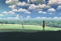 Landschaften in Animes