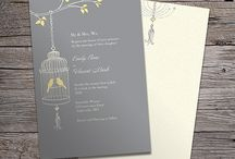 Yellow Wedding Design / Contact LM Design for custom Wedding Invitation & Stationary Designs & Printing (Including Letterpress)  www.LMDesign.co www.facebook.com/LMDesignsc  Lindsey@LMDesign.co