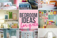 Girls room ideas. / by Kim Pruitt