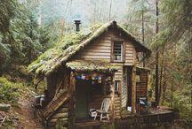 Cozy huts