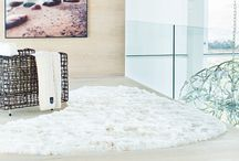 Alpaca Fur Rugs / Extremely soft and silky luxurious fur rugs made from natural alpaca fur.