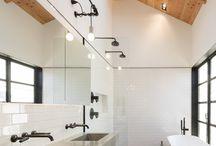 Contemporary Ensuite/Bathroom