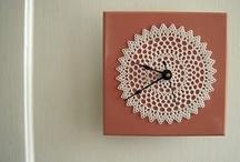 Knit clock