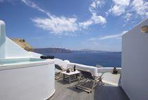 Villa Castro #Santorini #Greece #Island