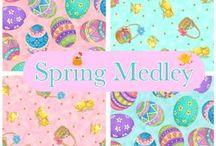 Spring Medley Fabric