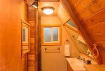 A frame cabin
