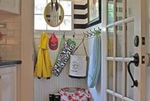 new house mud room garage / by Tena Curtis