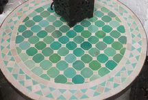 mosaik-bord