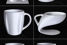 이것은 컵 / 컵