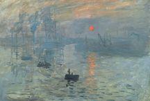 Impressionism art / Claude Monet, Auguste Renoir, Eugène Delacroix, Winslow Homer, Camille Pissarro, Edgar Degas