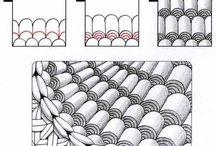 Zentangle randen