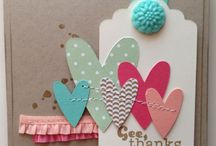 Card Inspiration - Hearts / by Michelle Bailey