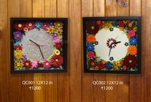 Handmade Paper Quilled Clocks by Divya / Paper quilling is a fun and challenging form of art and works wonders when it is folded into a shared experience. I have crafted a world where paper art means more than just a fold.