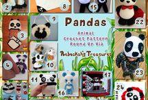 Panda - Pandas Crochet