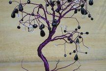 Wire tree DIY