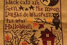 Prairie Schooler cross stitch