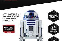 Disney's Star Wars Humidifiers by Emson