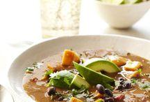 chunky sweet potato soup