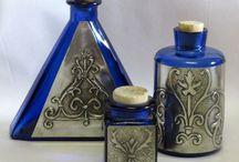 botellas con aluminio