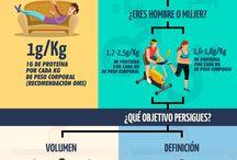 calorías y músculo