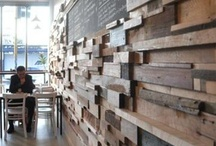 Interior timber cladding