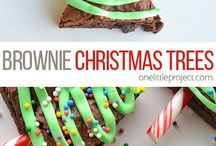 Christmas cakes, cookies and sweet treats