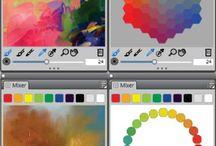 Digital Paintings / my own work