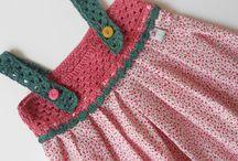 vestidos com detalhes em croche