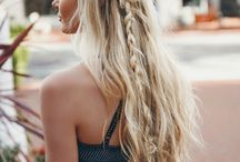 Hairstyles / Fun and cool hair and makeup designs