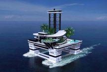 передвижные частные острова (mobile private island)