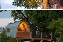 Amazing Treehouses / We just love the treehouses!