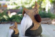 Nordic and Scandinavian Gnomes / The Gnome Makers on Etsy!